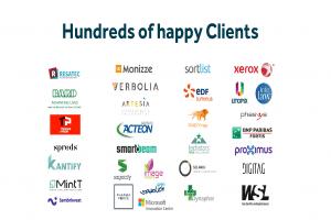 Logo d'entreprise de clients satisfaits